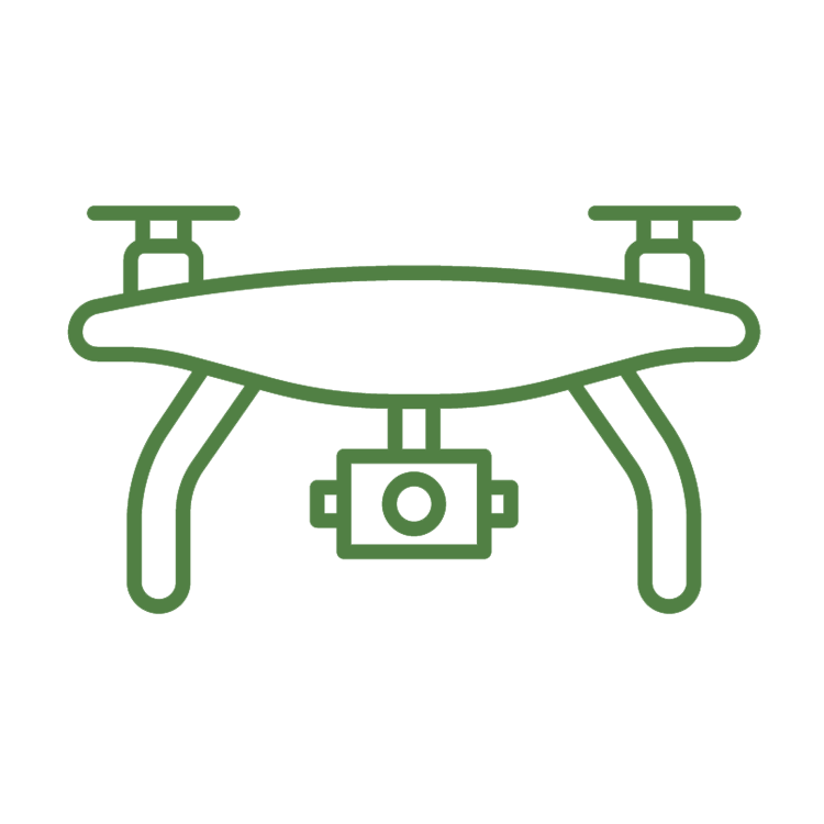 Drone surveys icon
